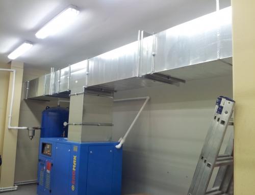 Утилизация тепла компрессора